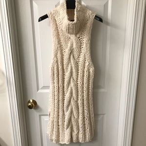 Free people knit sweater vest size m
